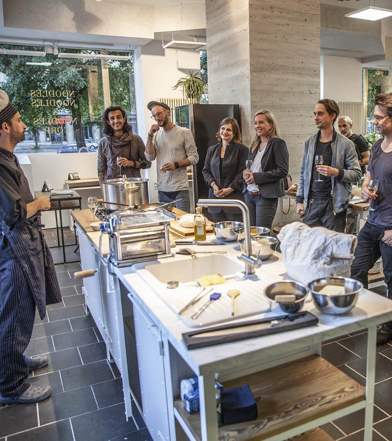 Authentic Kitchen Showroom, Kochevent, Fabio Borsi